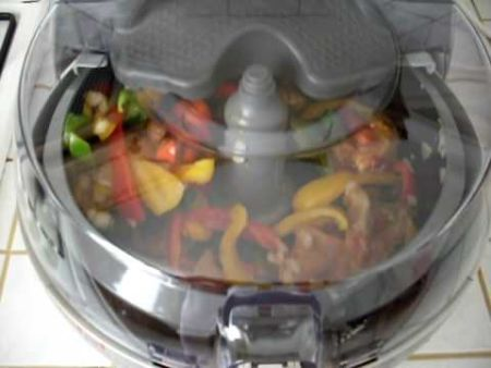 Actifry Italian Sausages and Peppers