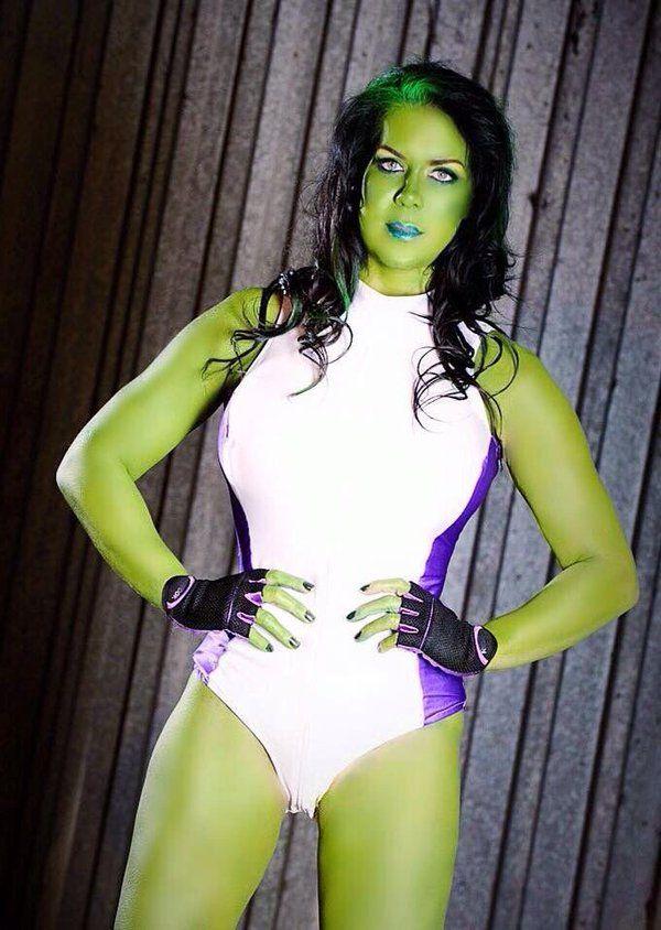 Chyna as she-hulk