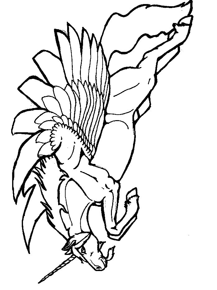 find this pin and more on pegasus to color - Books To Color