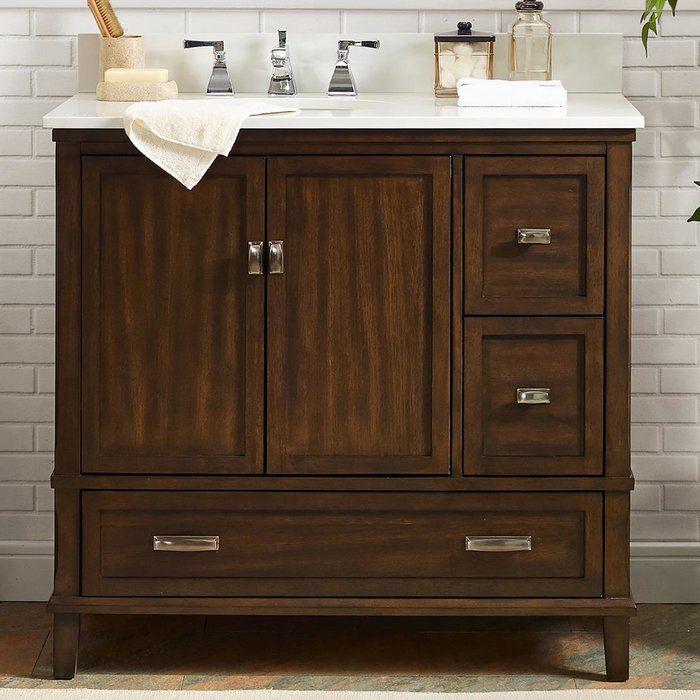 Ka 36 Single Bathroom Vanity Set Single Bathroom Vanity Bathroom Vanity Makeover Modern Bathroom Vanity