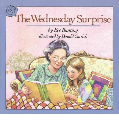 Good book for teaching Questioning strategy, K-3  A loving story about a proud granddaughter and her successful efforts to teach her grandmother to read. A plug for literacy is just the bonus