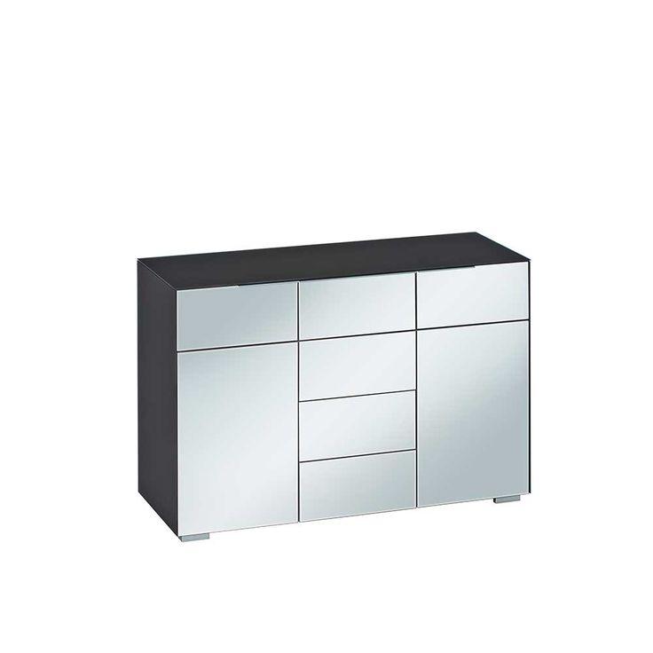 Cele mai bune 25+ de idei despre Sideboard schwarz weiß pe - farbgestaltung wohnzimmer schwarz weis