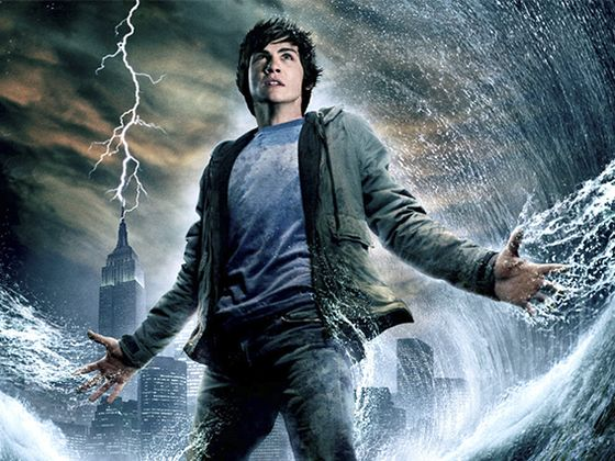 Antes y después de los personajes de Percy Jackson y el ladrón del rayo