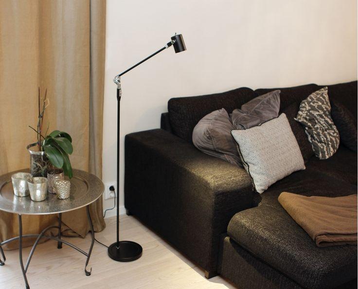 Belid - Regent LED-Stehlampe dimmbar Höhe bis 145,5cm - NEU bei #KONTOR1710