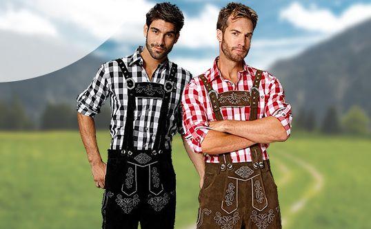 Mit unserer #Trachtenmode für Herren steht einem Besuch auf dem Oktoberfest nichts mehr im Wege!