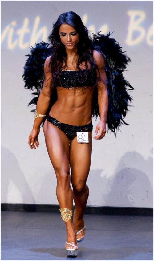 PHYSIQUE MODEL & WBFF CHAMPION ANDREIA BRAZIER I view