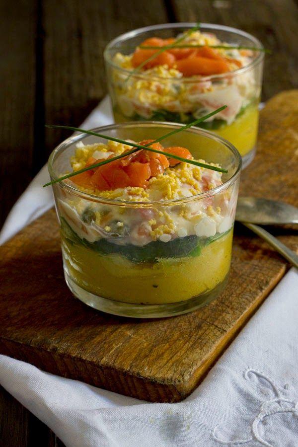 Yerbabuena en la cocina causa lime a de salm n ahumado - Aperitivos de salmon ahumado ...