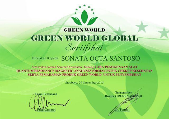 Green World: Hubungi Kami