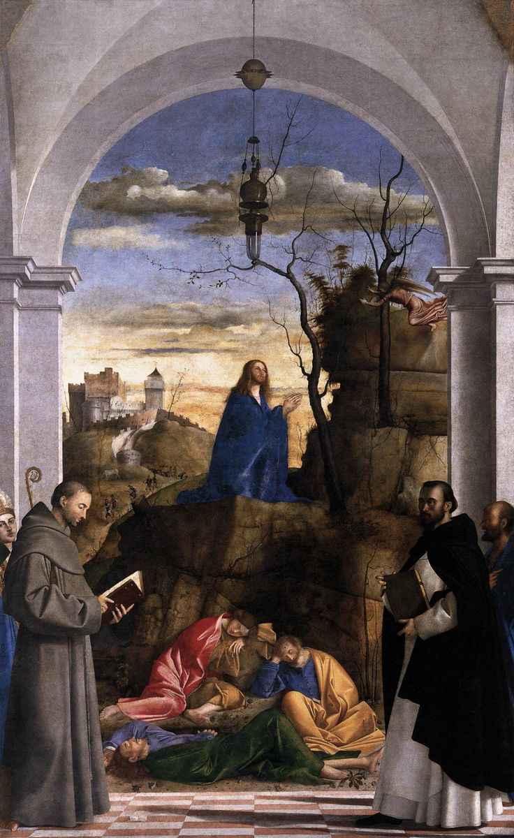 the agony in the garden by giovanni bellini essay 38 giovanni bellini, the agony in the garden, c  and explored the topic in a  number of essays contained in a wide-ranging catalogue29 the marked interest .