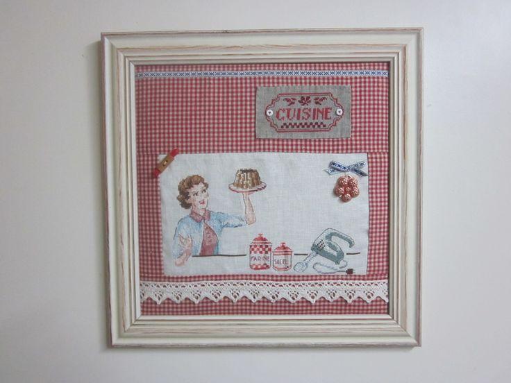 17 meilleures images propos de point de croix cuisine - Cuisine et croix roussien ...