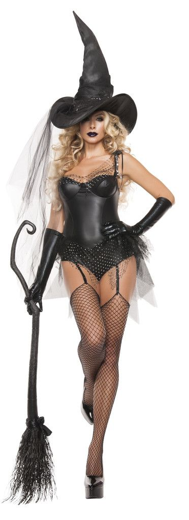 Black Spider Witch Costume – Costume Whore