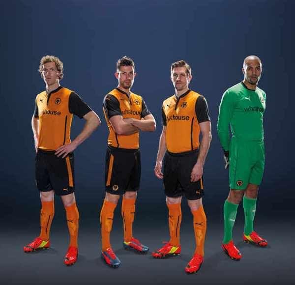 Wolverhampton Wanderers Home Kit 14 15