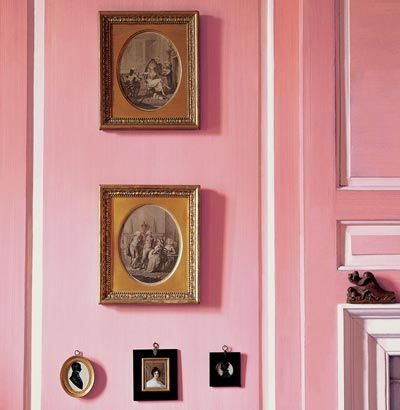 Best Dulux Heritage Range Pink Panelling With Dh Blossom 400 x 300