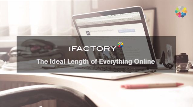 Find out the ideal length of everything online.Get more helpful tips and tricks from our website. #ifactory #tips #digitalmarketing #digitalagency #ideallength #content #copywriting #webdesign