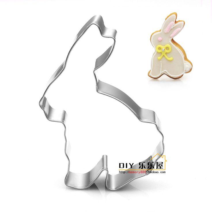 Новый белый кролик печенье плесень выпечка прессформы нержавеющей стали помады прессформы прессформы оптовая фрукты вырезать - Taobao