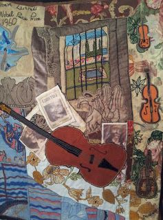 Music Tapestries for Boughton Castle (UK)