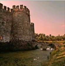 Mamure Castle-Anamur-Mersin-Turkiye