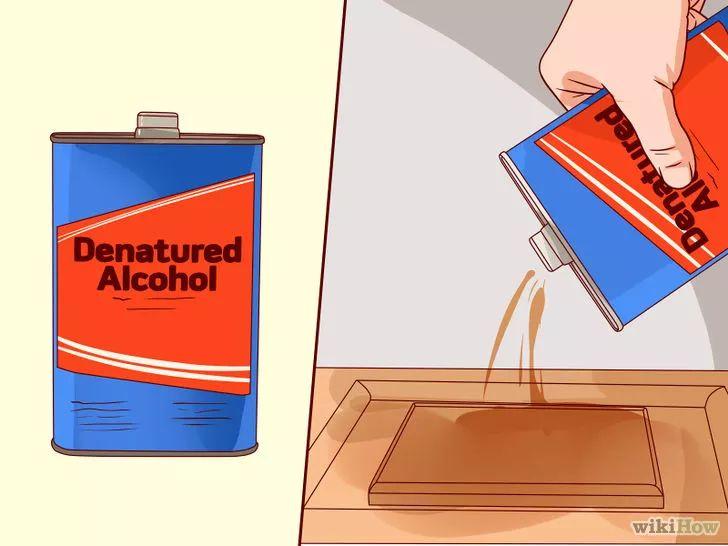 Como quitar goma laca: Remove Shellac Step 2