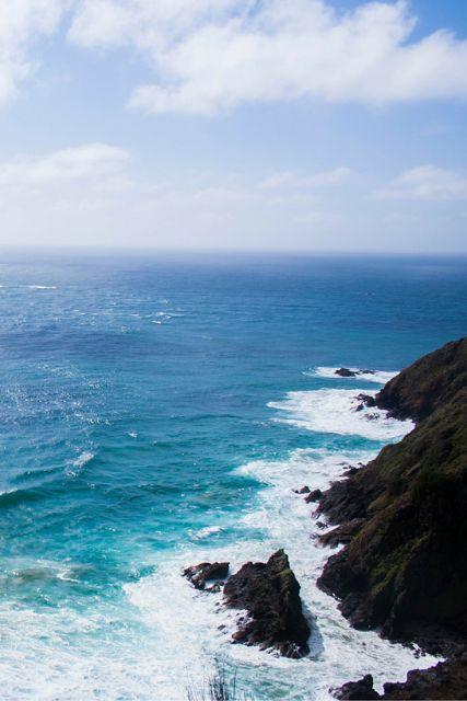 wide blue empty ocean