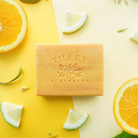 Triple milled to create an extra creamy texture, the Tilley soap range is beautifully luxurious for everyday use and just perfect to spoil someone you love. Naturally made with the finest raw materials including sustainable palm oil, pure coconut oil, shea butter and vitamin E. Shop in store or online now via the link in our bio! 🌟🍋🍊