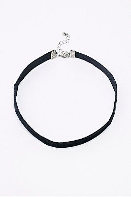 Velvet Choker Necklace in Black