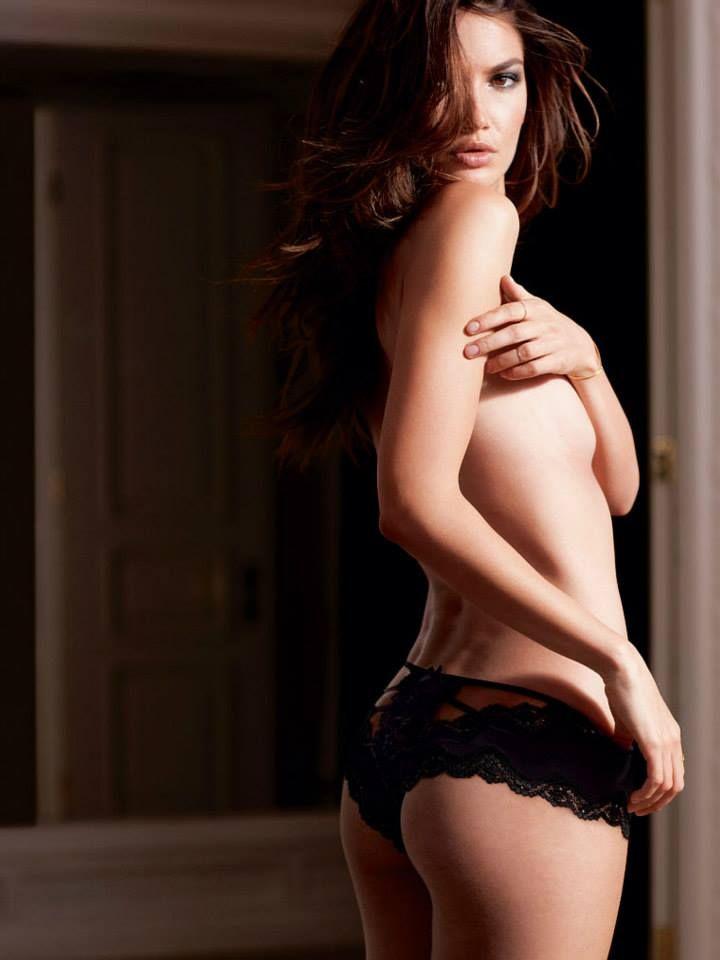 Lily Aldridge for Victoria's Secret Lingerie February 2015 Lookbook