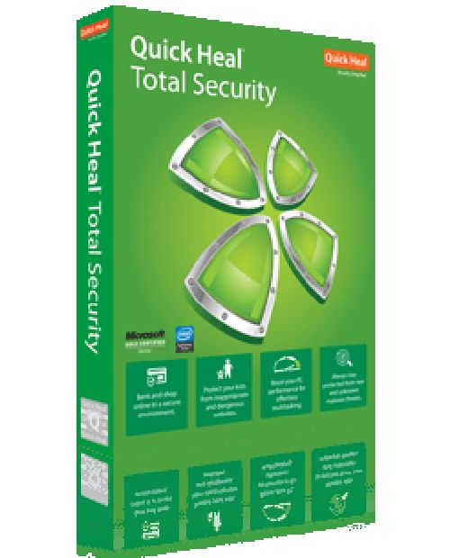 Quick Heal Total Security 2 Year  3 User