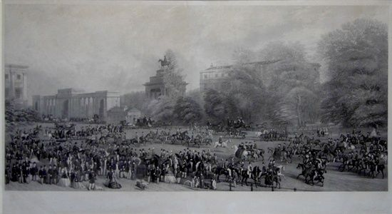 Hyde Park, 1864, Rotten Row | Sanders of Oxford