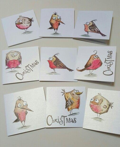 Tim Holtz Bird Crazy cling stamps - fantastic set