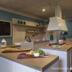 Encuentra aquí las mejores ideas para cocinas de estilo rústico. 1711 fotos de cocinas de estilo rústico te servirán de inspiración para la casa de tus sueños.