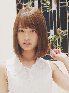 ストレートボブ - 24時間いつでもWEB予約OK!ヘアスタイル10万点以上掲載!お気に入りの髪型、人気のヘアスタイルを探すならKirei Style[キレイスタイル]で。