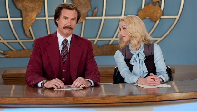 Ron Burgundy' (Will Ferrell) é que dava notícias confiáveis.