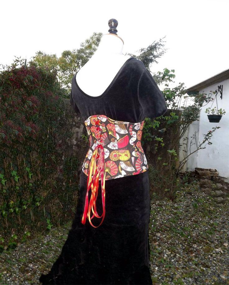corset sous poitrine underbusc maintien fort T40 à T44 : Ceinture par horizon-couture-corsets