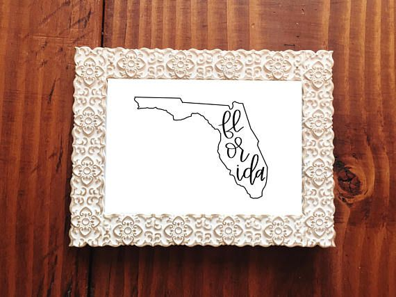 State Outline, State Outline Sign, Florida Artwork, Hurricane Irma, Hurricane, Hurricane Relief, Wedding Gift, Florida, Florida Map, Beachhouse Decor, Rustic Beachhouse, Coastal Decor Ideas, State Wall Decor  This listing is for an INSTANT DOWNLOAD of the PDF files of this artwork.  Do you or someone you love live in Florida? This print will be a perfect edition to a Florida home or the home of someone who is from or just loves the Sunshine state! Our hearts go out to those who are being…