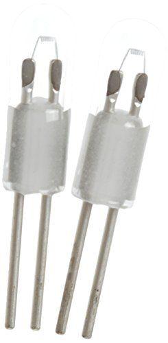 Mag-Lite LM2A001 Mini-Mag Halogène Ampoule Verre Transparente: Très haute luminosité Exécution de l'ampoule de remplacement est un halogène…