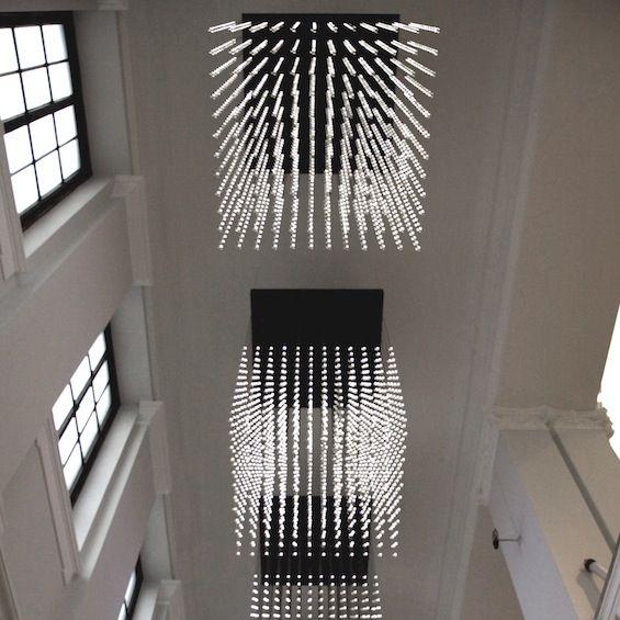 Jusqu'au 21 décembre prochain, la Carpenters Workshop Gallery nous invite à découvrir la rétrospective des artistes designers londoniens de Random International.