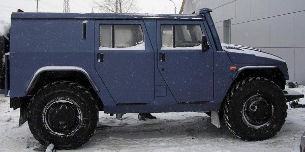 GAZ-2330 | Sistema de radar auxiliar: