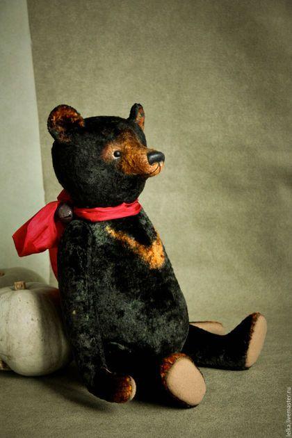 Мишки Тедди ручной работы. Ярмарка Мастеров - ручная работа. Купить Медведь Гризли. Handmade. Черный, плюш