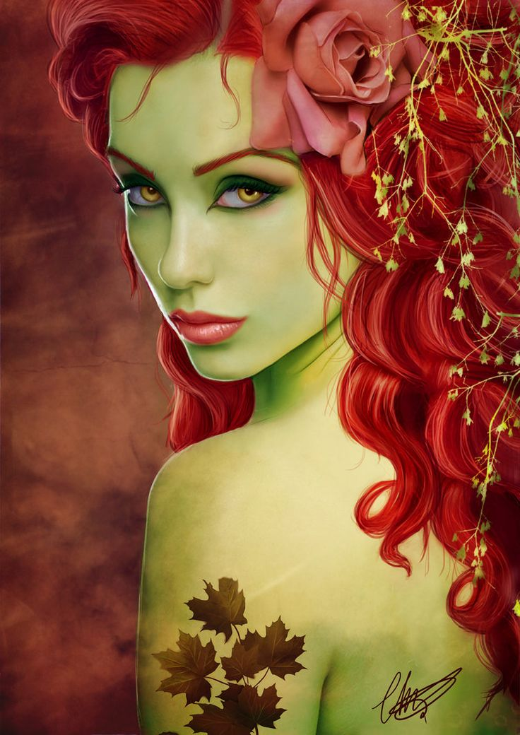 poison ivy by cha-illustration on deviantART