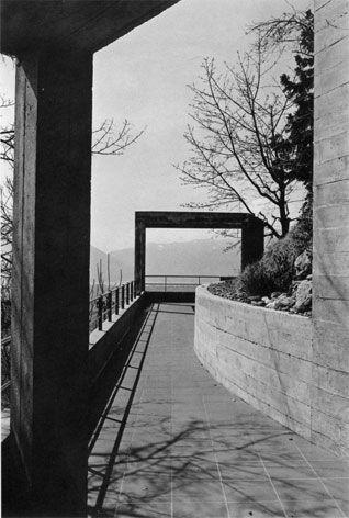 Kalman House, Brione Minusio Switzerland (1974-76) | Luigi Snozzi