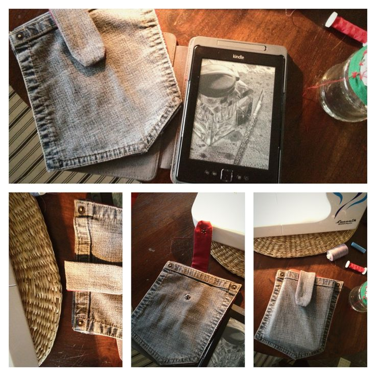 Diy kindle case- pocket :) Totally easy, only fun