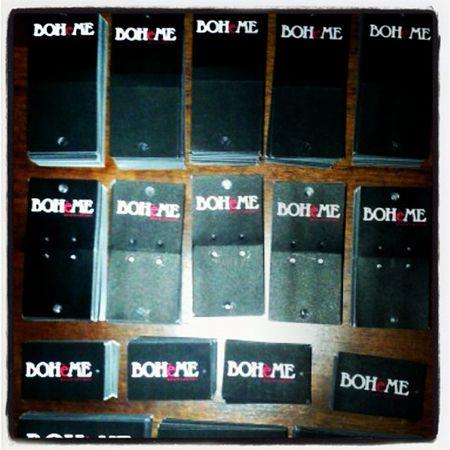 Etiquetas para accesorios Tienda Boheme, enviados a Copiapó. www.proyectaideas.cl