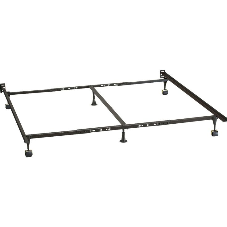 Shop Queen-King-California King Bed Frame. Sleep support in sturdy, high-carbon steel. Standard height metal box spring frame for twin and full beds is strong and resilient. Mattresses and box springs available (sold separately).