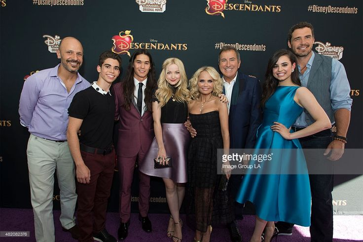 DESCENDANTS - Stars of the upcoming Disney Channel's movie 'Descendants' and its director Kenny Ortega were the guests of honor at a screening party held at Disney Studios in Burbank, California on Friday, July 24. The contemporary, live-action adventure tells the story of the teenage sons and daughters of DisneyÕs most infamous villains. 'Descendants' premieres Friday, July 31 (8:00 p.m. ET/PT) on Disney Channel.