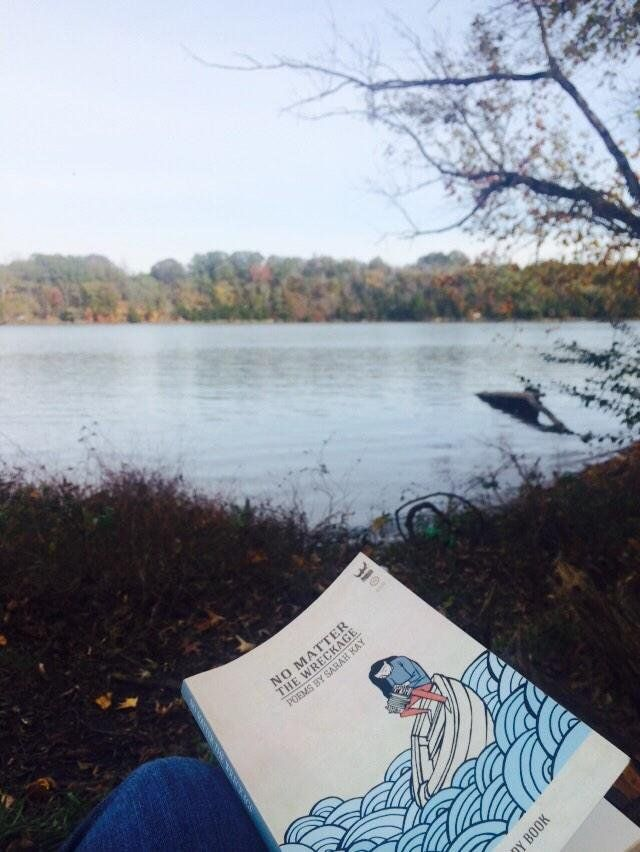 """Sarah Kay on Twitter: """"""""@annacarlsonson: Currently: http://t.co/CGwP8dKaMu"""" I love seeing the places this book gets to travel. Thanks for sharing."""""""