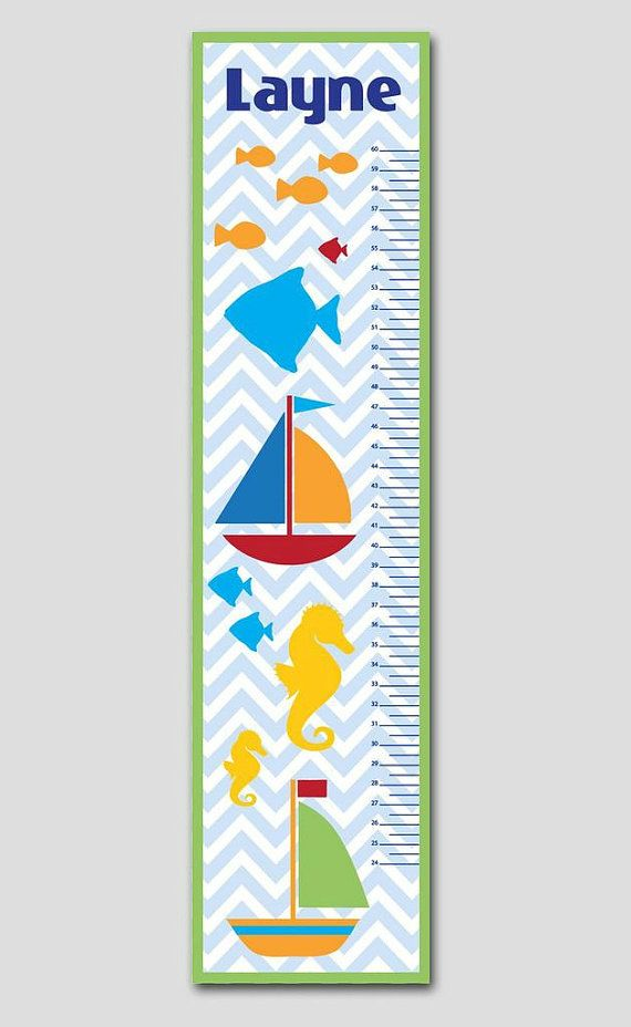 Best Personalized Growth Charts Images On   Babies