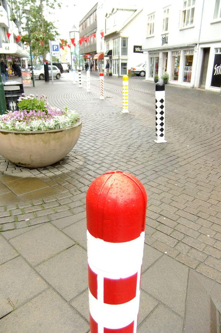 Laugavegur (Main shopping street), Reykjavik, Iceland