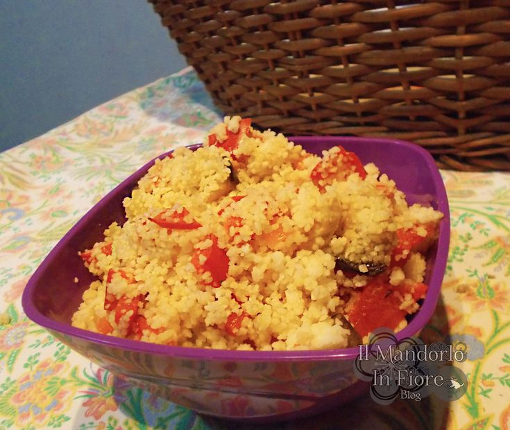Cous cous di pollo peperoni e curry