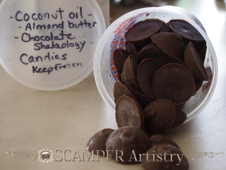 Chocolate Shakeology Coconut Oil Frozen Delight