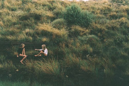 (3) Tumblr dark  green  #girl,  retro -  #kids  vintage